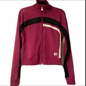 Nike Mesh Track Jersey Jacket Athletic Magenta